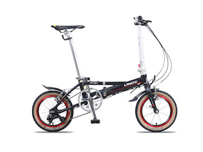 LANGTU FOLDABLE 3 SPEED (BLACK/RED)