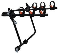 ALACA REAR BICYCLE CAR RACK BLACK FOR 3