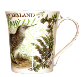 NZ Native Kiwi Bone China Mug - 10500