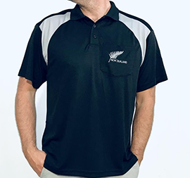 NZ & Fern Dry Fit Polo Shirt - 220DF