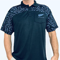 Tattoo Shoulder Dry Fit Polo Shirt - 221DF
