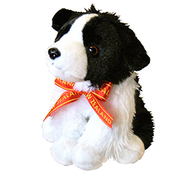 New Zealand Sheep Dog With Bow - 30676