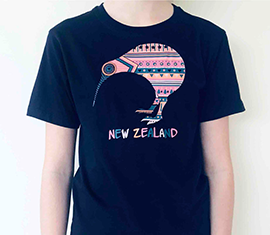Heart Kiwi T-shirt - 374KP