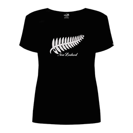 Embroidered Silver Fern - 47VT