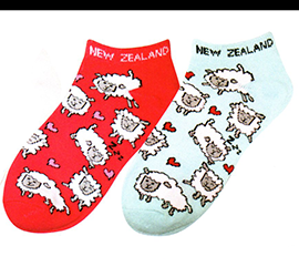 WOMENS Sheep Sports Socks - 55255/ 57 SET of 4