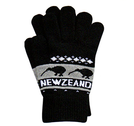 NZ Knitted Kiwis Gloves - 79397