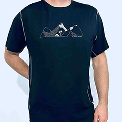 Merino Mountain NZ T-Shirt - MMT04