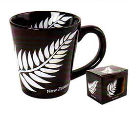 NZ Fern Latte Mug - MUG86