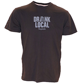 Drink Local Beer Mangatanoka T-shirt