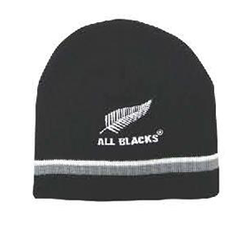 All Blacks Beanie Striped - KBN0201AB