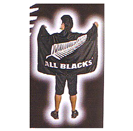 All Blacks Flag XLarge - FLG004AB