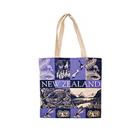 NZ Scenes Carry Bag - 00443