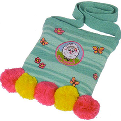 Sheep & Flowers Knitted Bag - BKSFT