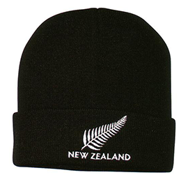 New Zealand & Fern Beanie - 60435 PACK of 6
