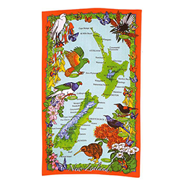 NZ Birds Microfibre Kitchen Towel - 65136 - 6 PACK