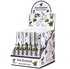 NZ Birds & Flowers Pens - SP101-36PK