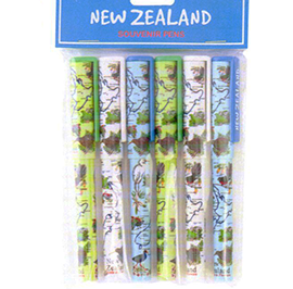 Birds & Flowers Pens 6 Pack - SP85