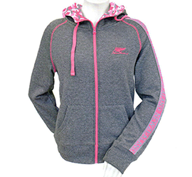 Fern Fluoro Camo Pink Hooded Sweatshirt - PK WOMEN
