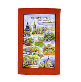 Christchurch Tea Towel - TT637