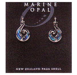 Paua Earrings - MOE53