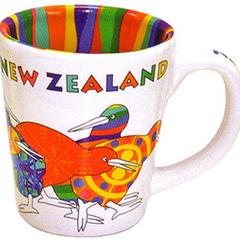 Designer Kiwis Espresso Cups - 10314 SET OF  2