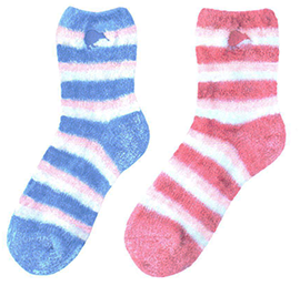 WOMENS Kiwi Feather Socks - 55293/ 94 SET of 2