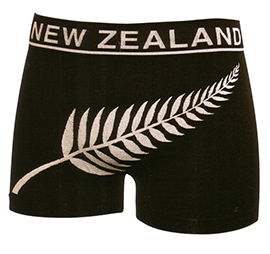NZ Fern Seamless Boxers - PK