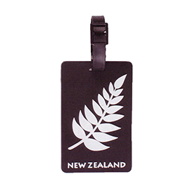 NZ Silver Fern Luggage Tag - LL04 PACK of 3