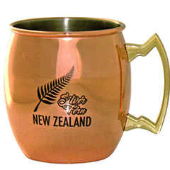 Silver Fern New Zealand Copper Mug - 82309