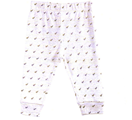 New Zealand Fern Baby Pants - ABC44