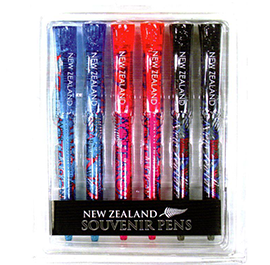 Glitter Stylish NZ Pens - 40144 Pack of 6