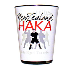Haka Shot Glasses White - Set of 2 -10983