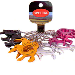 Kiwi Bottle Opener Key Rings - K247-12PK