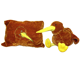 New Zealand Kiwi Pillow Toy - 30351