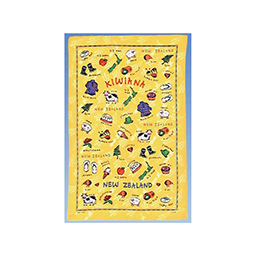 Kiwiana Tea Towel - TT487 6 PACK