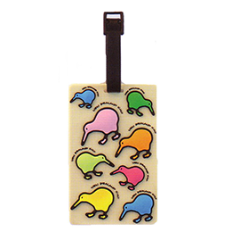 Kiwis Luggage Tag - LL09 PACK of 3