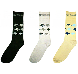 MENS Kiwi Socks - 55187/88/89 SET of 6