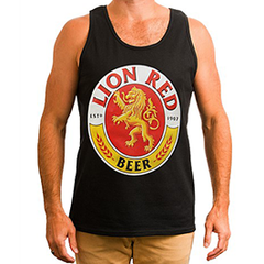 Lion Red Beer Singlet - 1016757