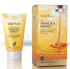 Manuka Honey Moisturiser With SPF30 - MNMS