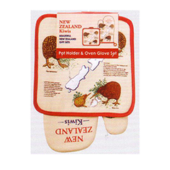 Kiwis Pot Holder & Oven Glove - MK4-PG