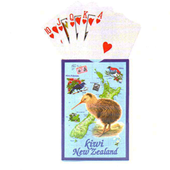 Kiwi & Map Playing Cards - MM081 2 PACKS