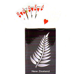New Zealand Silver Fern Playing Cards - MM083 2 PACKS