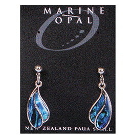 Paua Earrings - MOE25