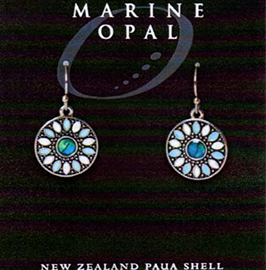 Paua Earrings - MOE136