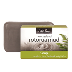 Rotorua Thermal Mud Guest Soap - RMGS3 PACK of 3