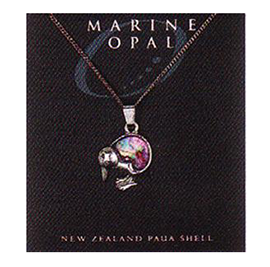 Paua Fine Chain Necklace - PJS15