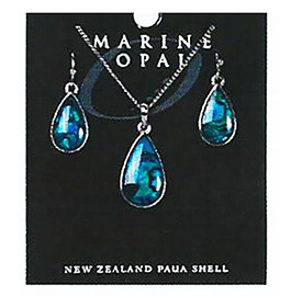 Paua Earrings - SET122