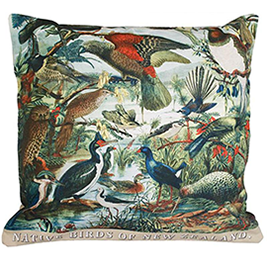 NZ Birds Cushion Cover - CV101