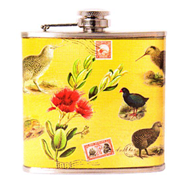 New Zealand Birds Hip Flask - MISC70