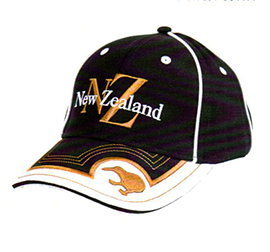 Gold New Zealand Text Cap - CA1143